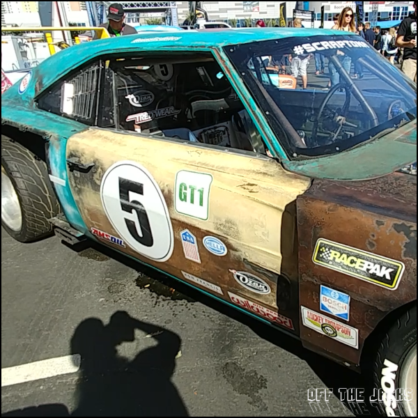 The Rusted Race Car – Off The Jacks