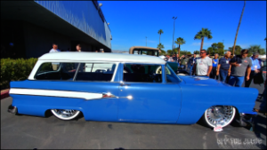 Blue Mercury Wagon at SEMA 2019